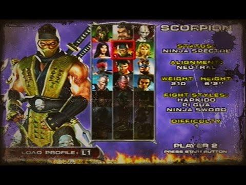 Mortal Kombat: Deadly Alliance - PS2 Longplay Scorpion [HD]