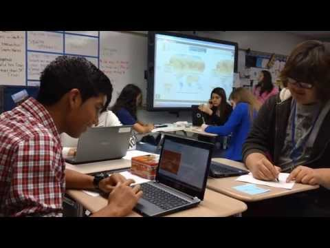 Sterling High School - World Geography using Technology