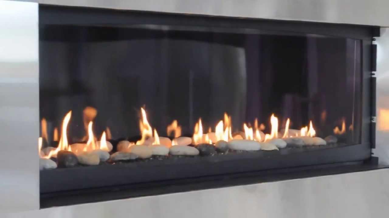 Glass Box Fireplace