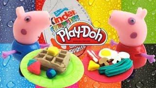 Новый набор пластилина Плей до лепим вкусный завтрак Play doh set breakfast time