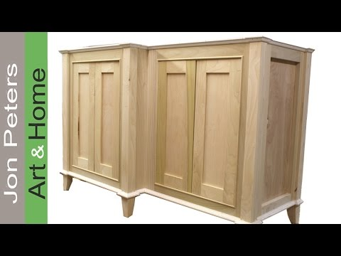 How to Build a Bathroom Vanity Cabinet part, 2