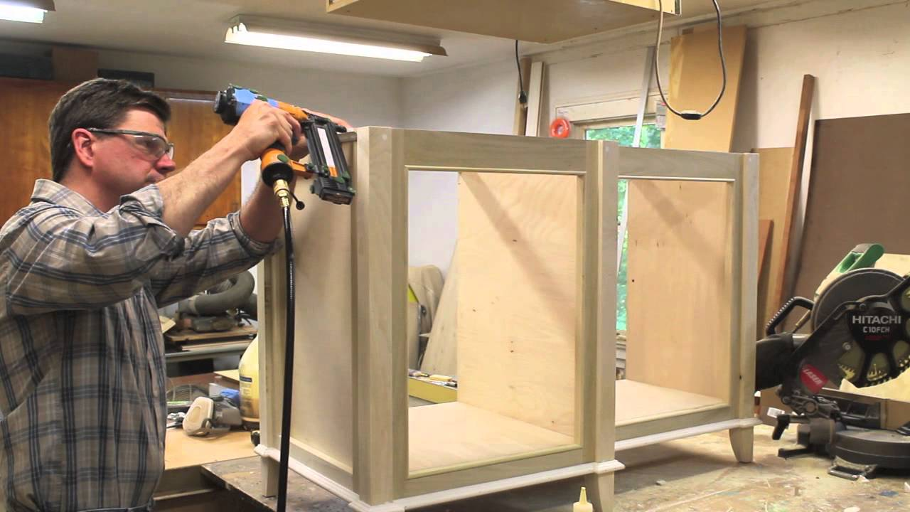 build a bathroom cabinet how to build a bathroom vanity cabinet part 2 12592
