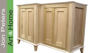 Build A Bathroom Vanity Cabinet Part, 2