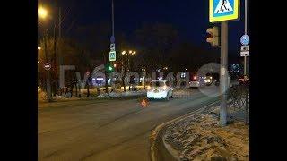 пешеход попал под машину у торгового центра «Счастье» в Хабаровске. Mestoprotv