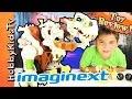 Ultra T-Rex Imaginext! Box Open Play Review HobbyPig By HobbyKidsTV