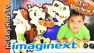 Ultra T-Rex Imaginext Box opening  Review with HobbyPig
