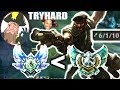Tobias Fate The Special Forces Gangplank Plat better than HIGH DIAMOND League of Legends