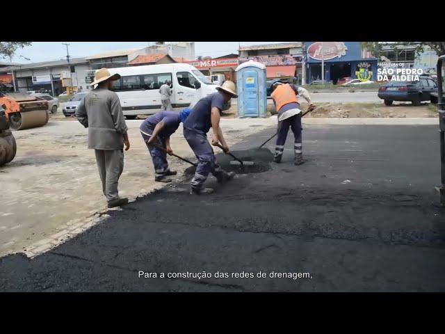 REVITALIZAÇÃO DA ENTRADA DO BAIRRO CAMPO REDONDO