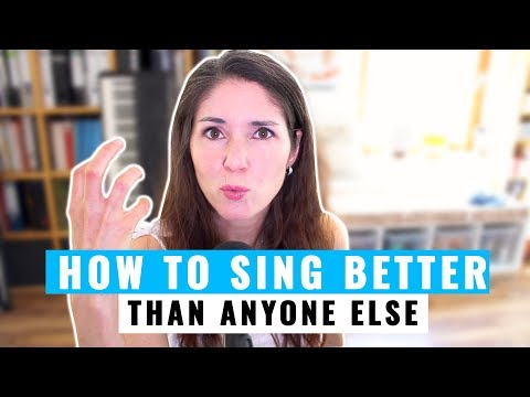 How To Sing Better Than Anyone Else