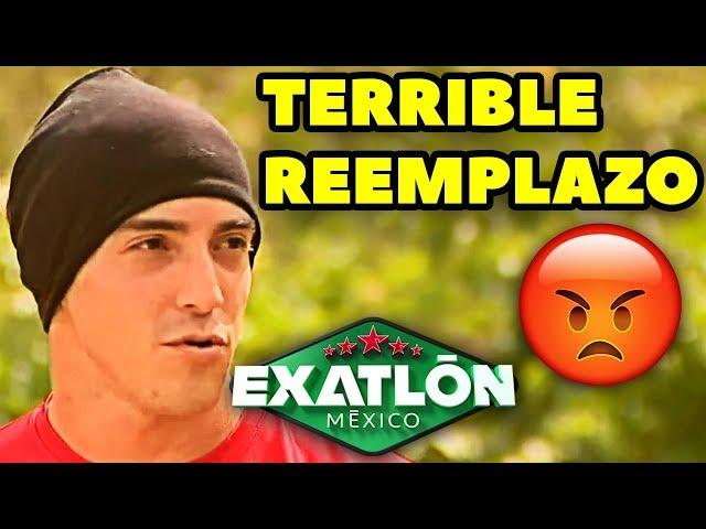 Exatlón México Segunda temporada | INJUSTO REEMPLAZO