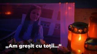 """Românii le cer iertare fetelor ucise: """"Am greșit cu toții"""""""