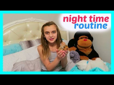 MY NIGHT TIME ROUTINE - BEDTIME ROUTINE