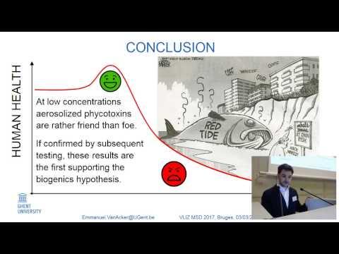 Emmanuel Van Acker - Phycotoxins in sea spray aerosols: friend or foe?