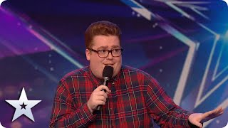 HILARIOUS  comedian Liam Bannigan turns his plumber job into WEST END MUSICAL! | BGT: Unseen