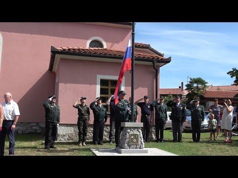 Odkritje prenovljenega spomenika in postavitve droga Nova vas 2019