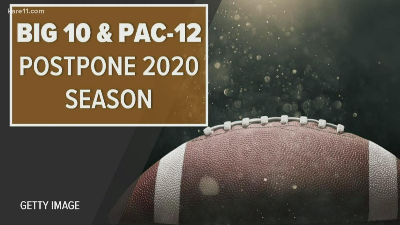 Big Ten, Pac-12 announce fall sports will be postponed