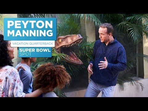 Peyton Manning: Vacation Quarterback | Super Bowl Spot