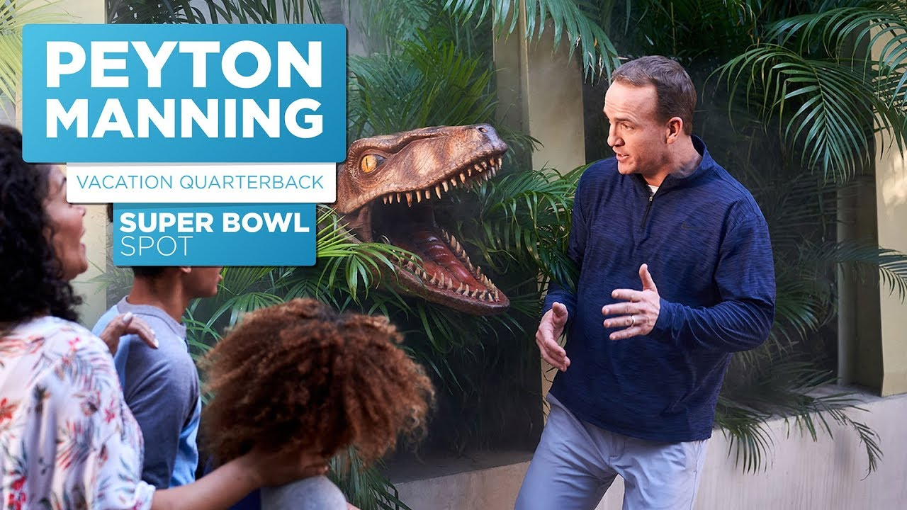 WATCH: Peyton Manning Universal Super Bowl Commercial 2018