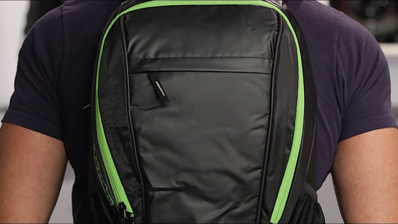 Alpinestars Lite Backpack Review at RevZilla.com - YouTube