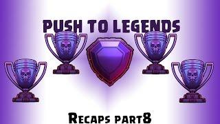 [Clash Of Clans] Push to legends league, Attacks Recap-8 (Legend Whales)