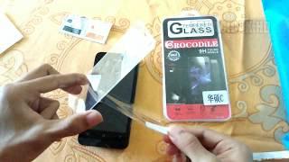cara pasang tempered glass / anti gores kaca hp 4K