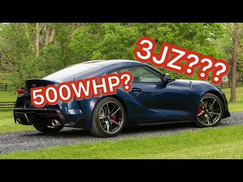 2020 TOYOTA SUPRA GETS A 3JZ ENGINE!!!!