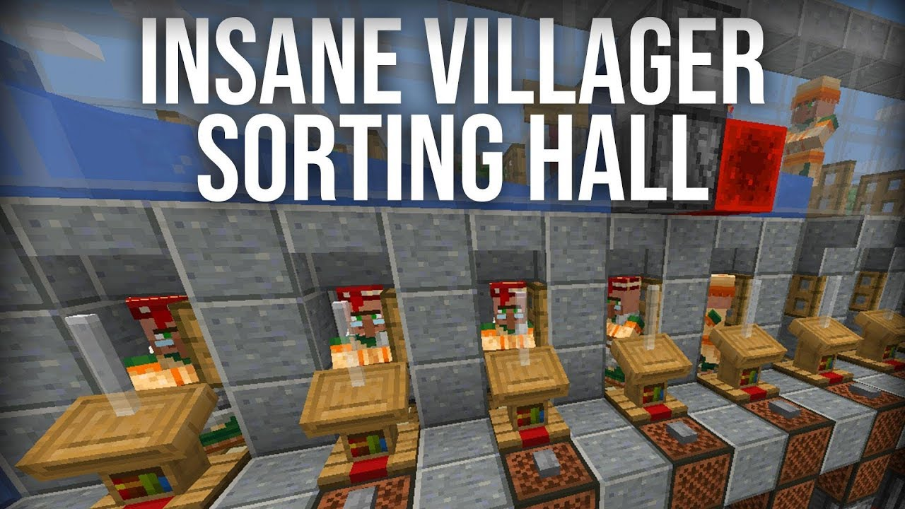 The BEST 9.99.9 Villager Trading Hall (EASY TO BUILD!)