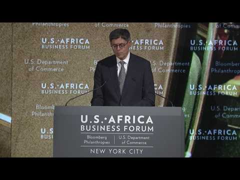Remarks by Jacob Lew, Secretary of the Treasury, United States: 2016 U.S.-Africa Business Forum