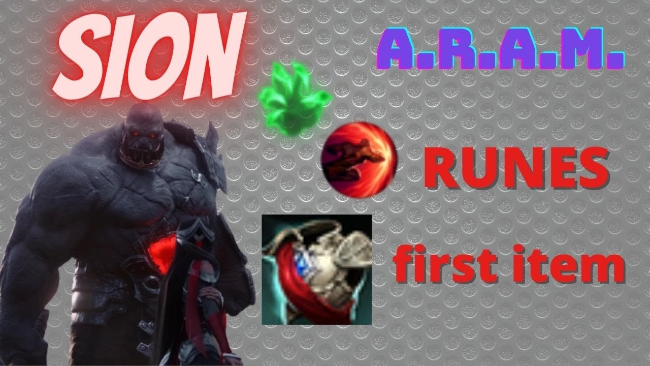 Sion League Of Legends Sion Aram Really Unstoppable Build Tank Bruiser Youtube By sawyernelson | updated on december 30, 2018. youtube