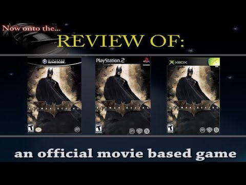 Movies to Video Games Review - Batman Begins (PS2/Xbox/GC)