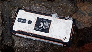 Homtom Zoji Z11 Review - Good 10000mAh Rugged Smartphone!