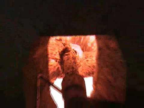 Drooling black liquor gun in a recovery boiler
