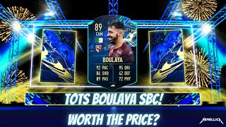 TOTS BOULAYA SBC! - WORTH THE PRICE? - FIFA 21 ULTIMATE TEAM