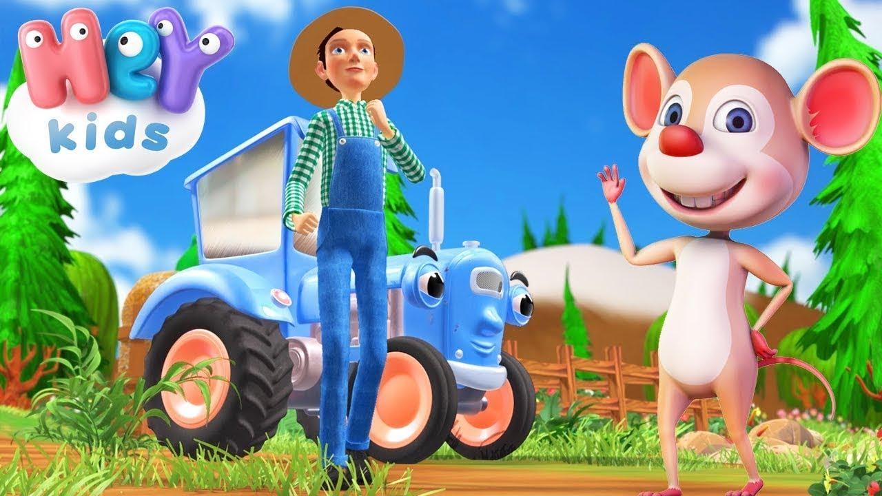 Хей-хо, Нам Помоги! — Домашние Животные Для Детей — Сборник детских песен