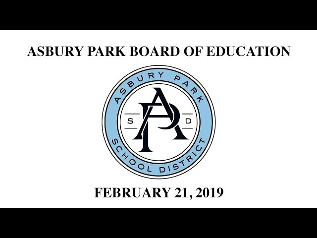 Asbury Park Board of Education - February 21, 2019