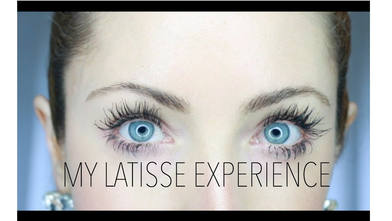 My Latisse Experience Before After Pros Cons Youtube