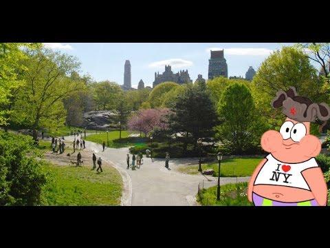 [Subtitles] Russian in Shakespeare garden, Central Park, Manhattan!