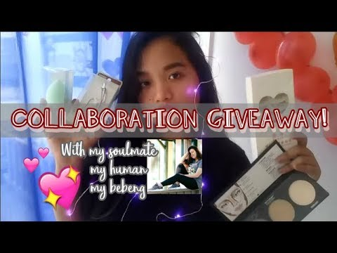 COLLABORATION GIVEAWAY WITH MY BESTFRIEND! (PH & CAL) | EJCB ♡