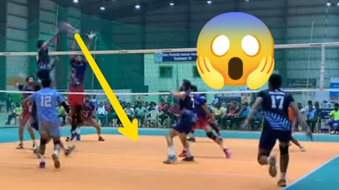 Download Match turn into fight (railway v Haryana) best volleyball match ever 2021 🇮🇳 Indian volleyball