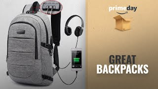 Save Big On Prime Day Backpacks Deals: Laptop Backpack, Business Anti Theft Waterproof Travel