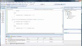 Create Your Own Calculator Tutorial Part 1 - C Sharp Visual Studio 2008