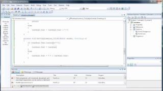 إنشاء آلة حاسبة الخاصة بك التعليمي جزء 1 - C شارب Visual Studio 2008
