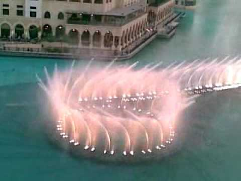 Dubai 7 star hotel water dance