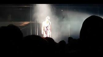 "FKA Twigs performs "" Mirrored Heart"" @Rebel, 11/17/19"