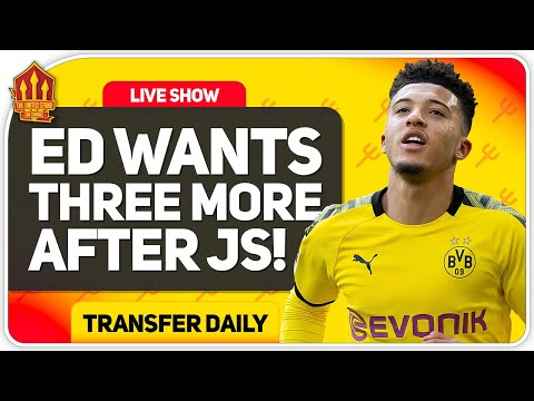 Sancho, Grealish Latest PLUS Raul Jiminez Rumours Debunked! | MUFC Transfer News
