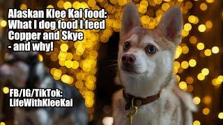 Best Alaskan Klee Kai food: What I feed my dogs