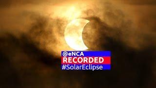 Partial solar eclipse treat for SA