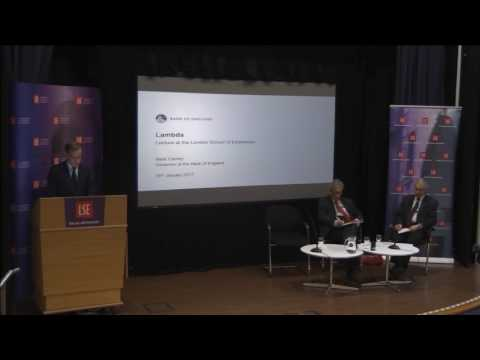 LSE Events | Mark Carney | Policy Issues Affecting the Bank of England (Slides+Video)