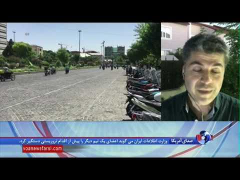 تحلیل صدا و لهجه مهاجمان به مجلس ایران در گزارش علی جوانمردی از عراق