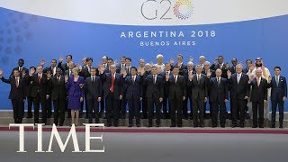 World Leaders Take A Group Photo At The G-20 Summit | TIME